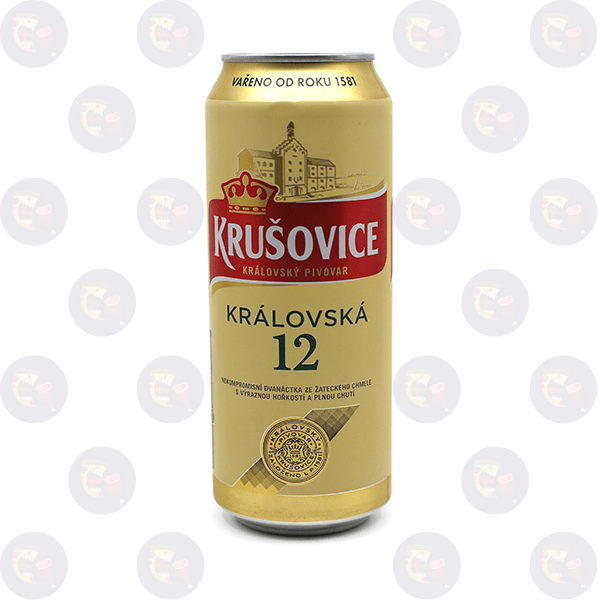Krušovice 12 svetlé pivo 500ml